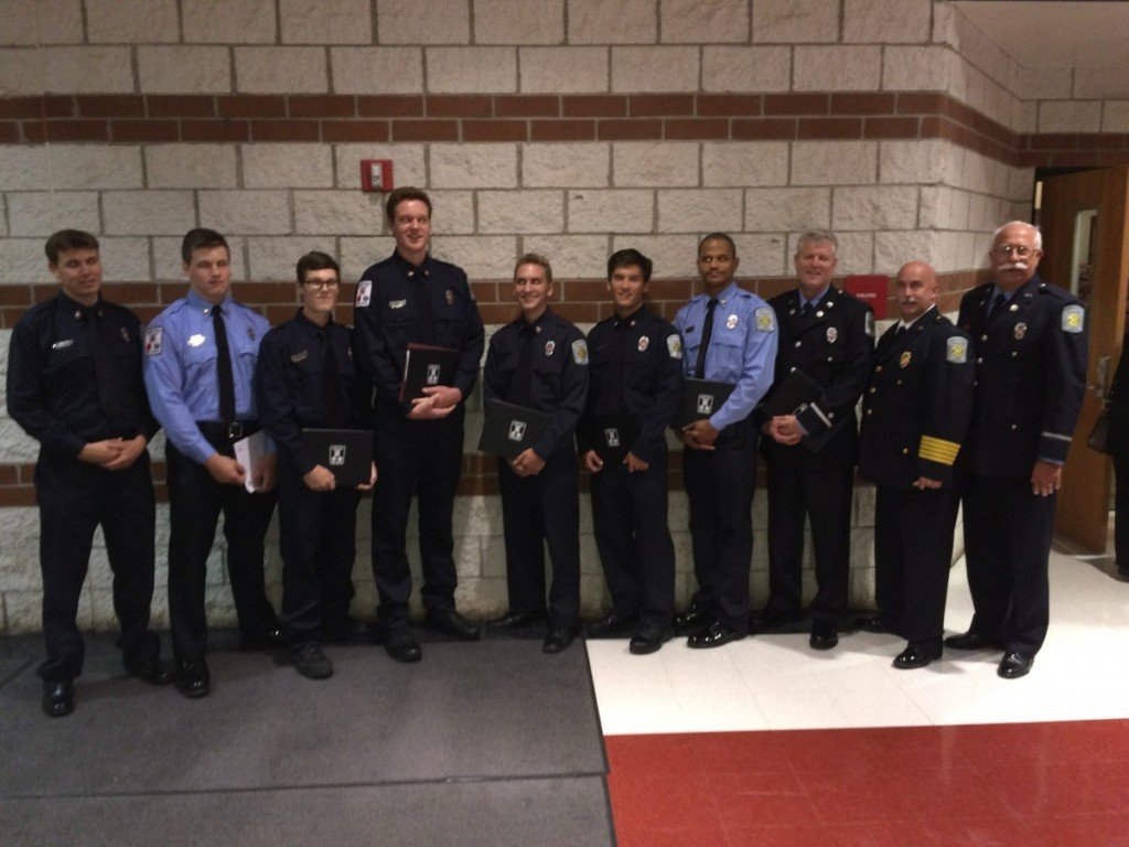 Spring 2016 Graduation for Fire School and EMT